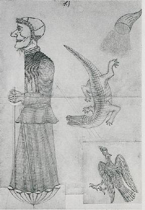 witch-with-eagle-crocodile-and-cornucopia-1911
